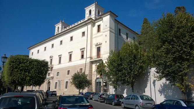 Villa Medici an der Spanischen Treppe