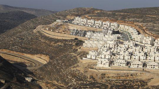 Israelische Siedlung bei Jerusalem