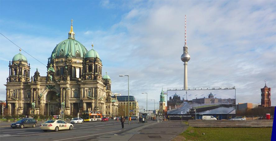 Palast der Republik contra Stadtschloss