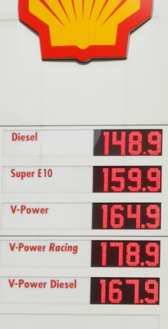 benzinpreise in der region