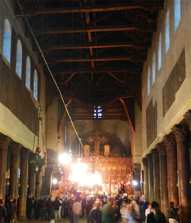 Bethlehem Geburtskirche am 21. November 2011