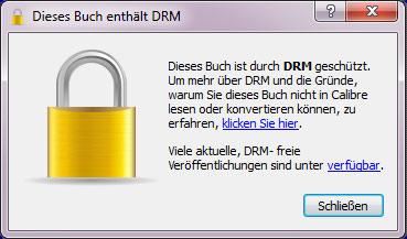 DRM Mitteilung