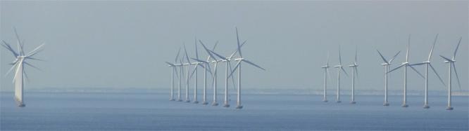 Offshore Windenergie bei der Öresundbrücke