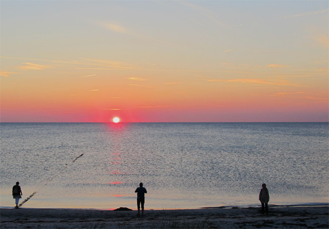 hiddensee-sunset