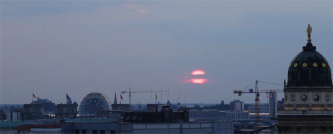 Sunset am 14.07.2014, 21:13