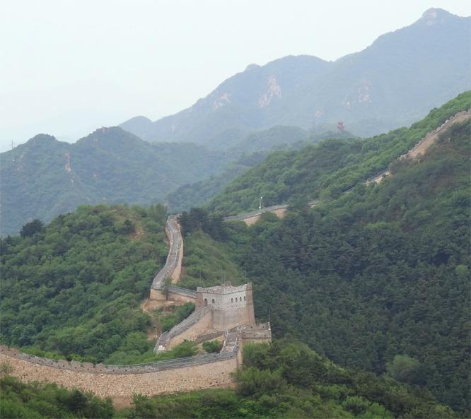 Auf der Grossen Mauer
