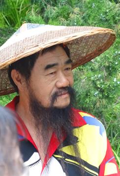 Ein waschechter Chinese im Sommerpalast