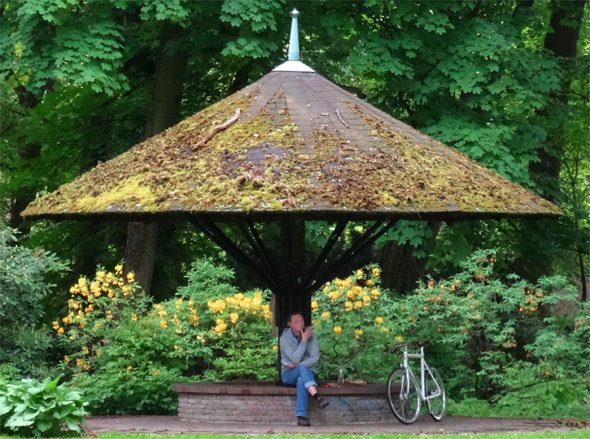 Im Schlosspark Niederschönhausen
