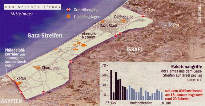 Israels Krieg gegen den Gaza-Streifen